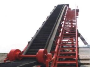 DJA型垂直大倾角波状挡边带式输送机